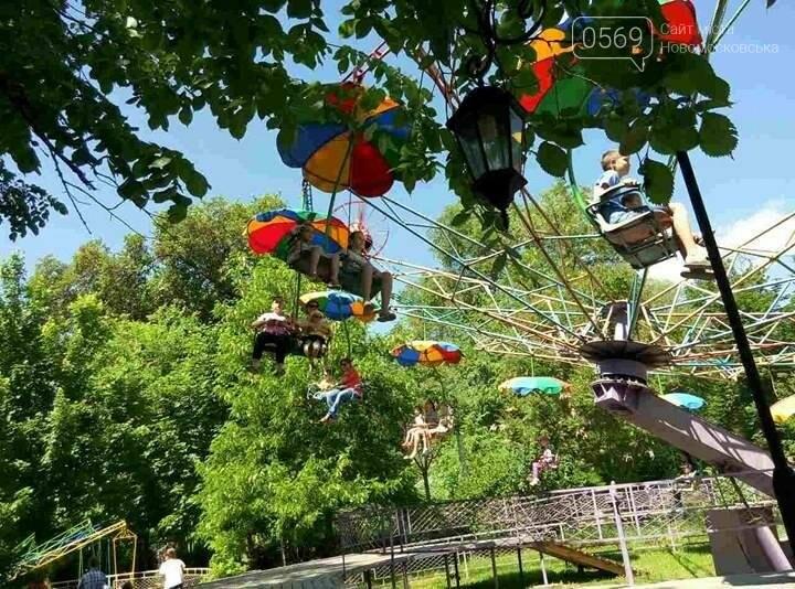 Вчера в парке бесплатно катали детей, фото-2