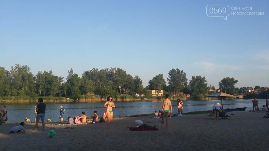 В Новомосковске созданы все условия для безопасного пляжного отдыха, фото-4
