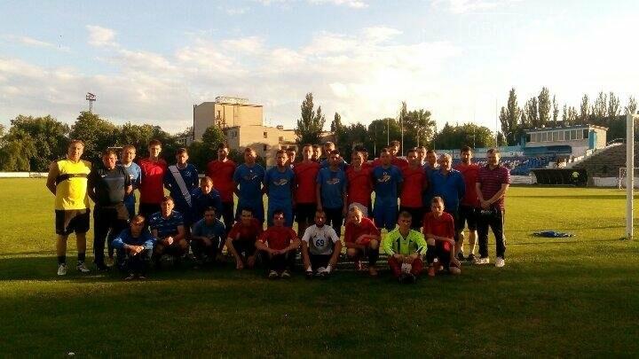 Новомосковск: мастер-класс от параолимпийской сборной Украины по футболу, фото-1