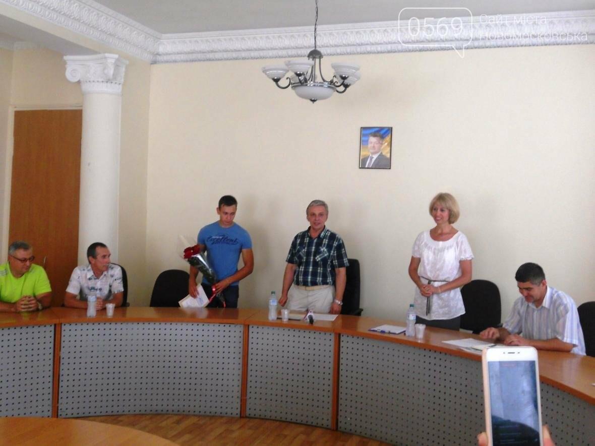 В Новомосковске чествовали чемпиона, фото-4
