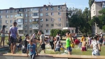 Новомосковск открыл сезон водных битв, фото-4