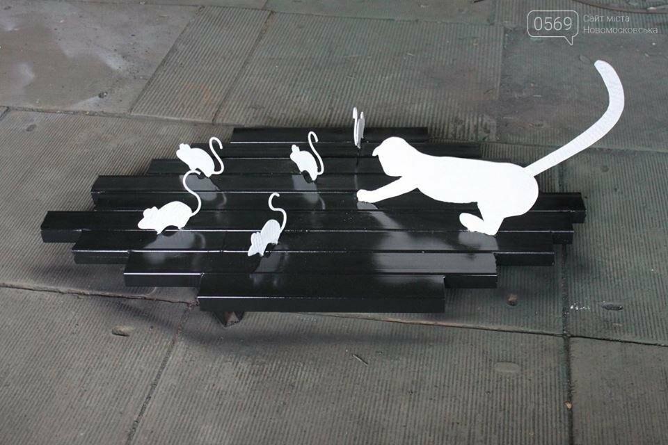 На Новомосковском трубном заводе  появились новые скульптуры из металлолома, фото-2