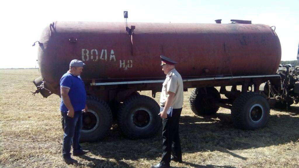 Спасатели проводят профилактическую работу на сельхозпредприятиях Новомосковского района, фото-2