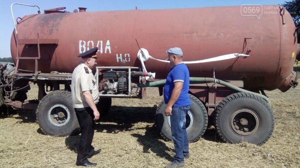 Спасатели проводят профилактическую работу на сельхозпредприятиях Новомосковского района, фото-3