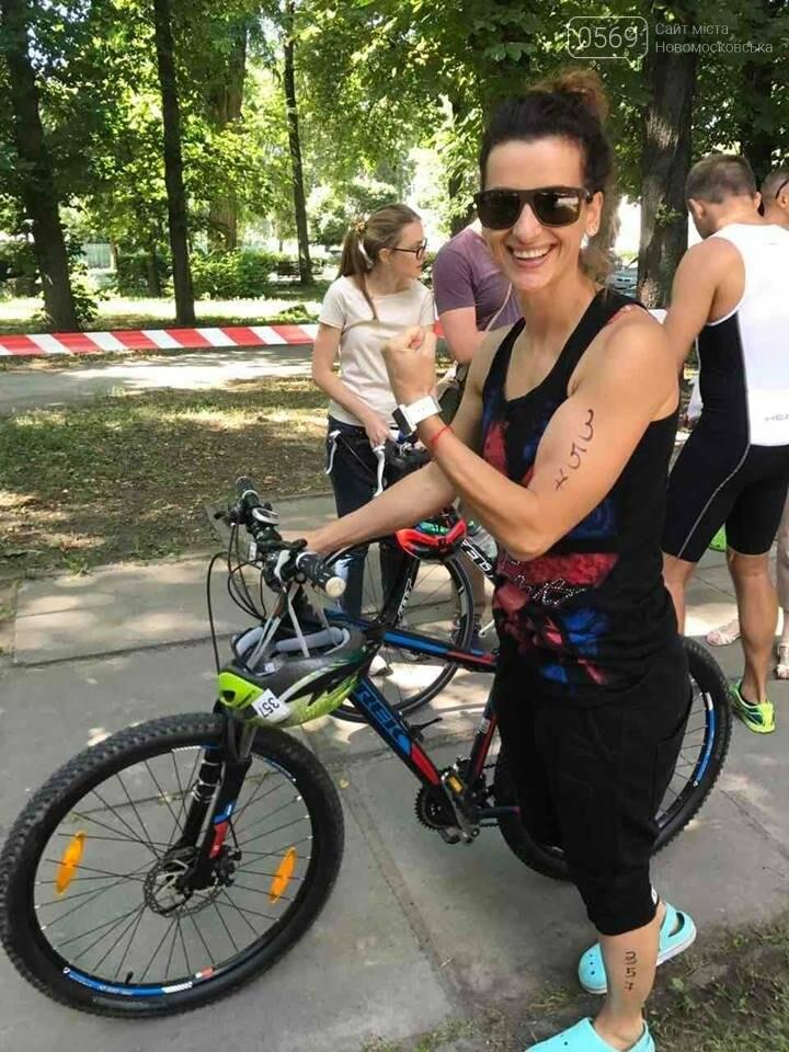 Спортсменка из Новомосковска стала участницей кубка Украины по триатлону, фото-2