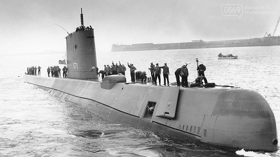 60 лет назад лодка «Наутилус» впервые достигла Северного полюса под водой, фото-1