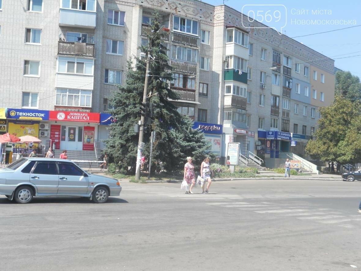 Новомосковск: на улице Гетманской не работает светофор, фото-1