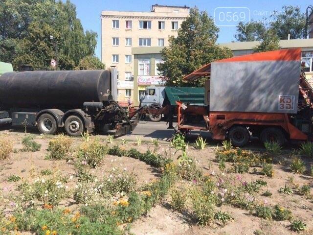 Новомосковск: продолжается ремонт улицы Гетманской, фото-4