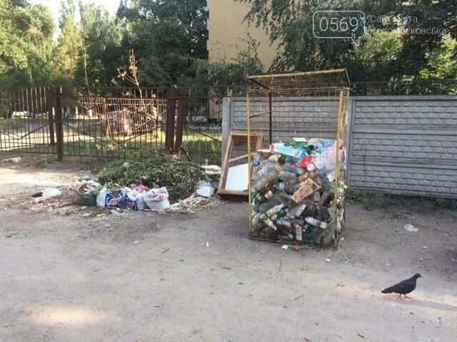 Новомосковск: праздники прошли, а мусор остался, фото-1
