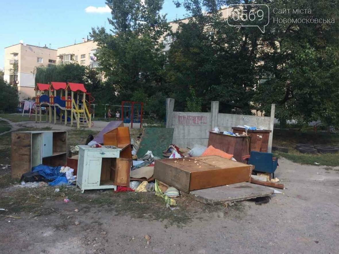 Новомосковск: праздники прошли, а мусор остался, фото-3