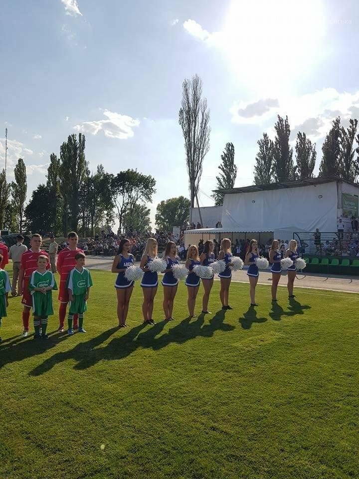 В Магдалиновке открыли новый стадион, фото-3