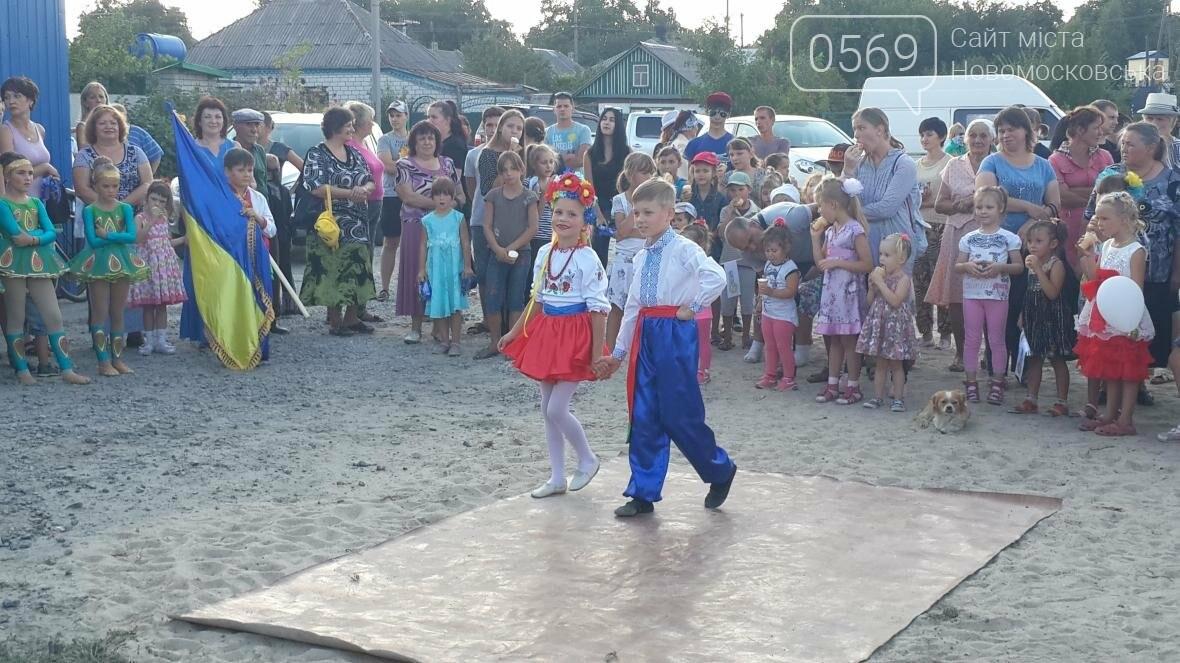 В Новомосковске открыли новую детскую площадку, фото-10