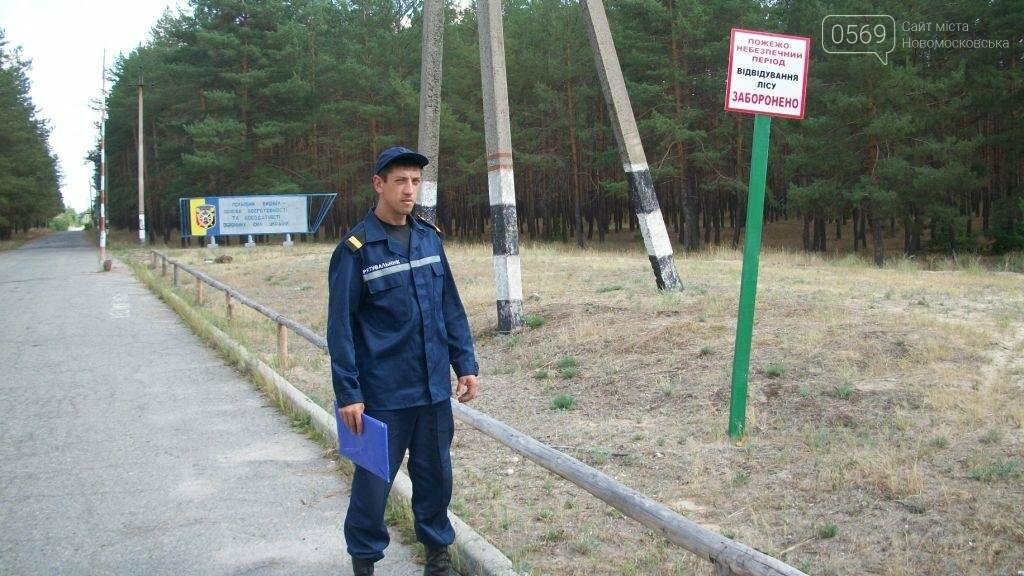 Спасатели Новомосковщины продолжают профилактическую работу с населением, фото-5