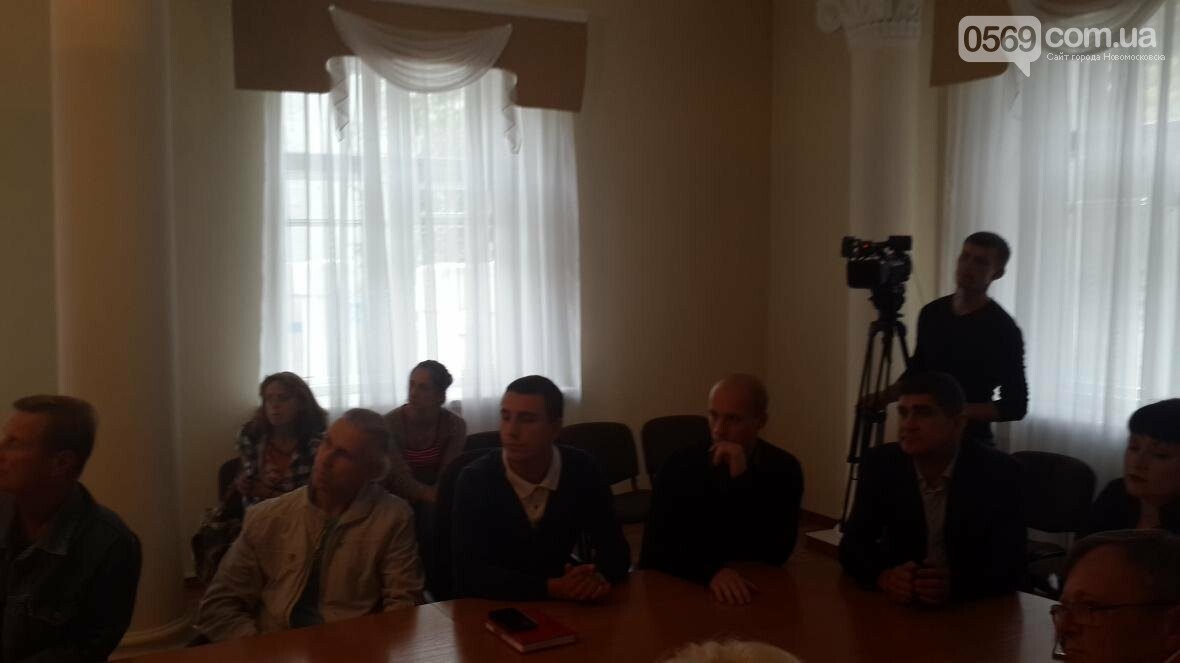 В Новомосковске выбирают памятник героям АТО, фото-3