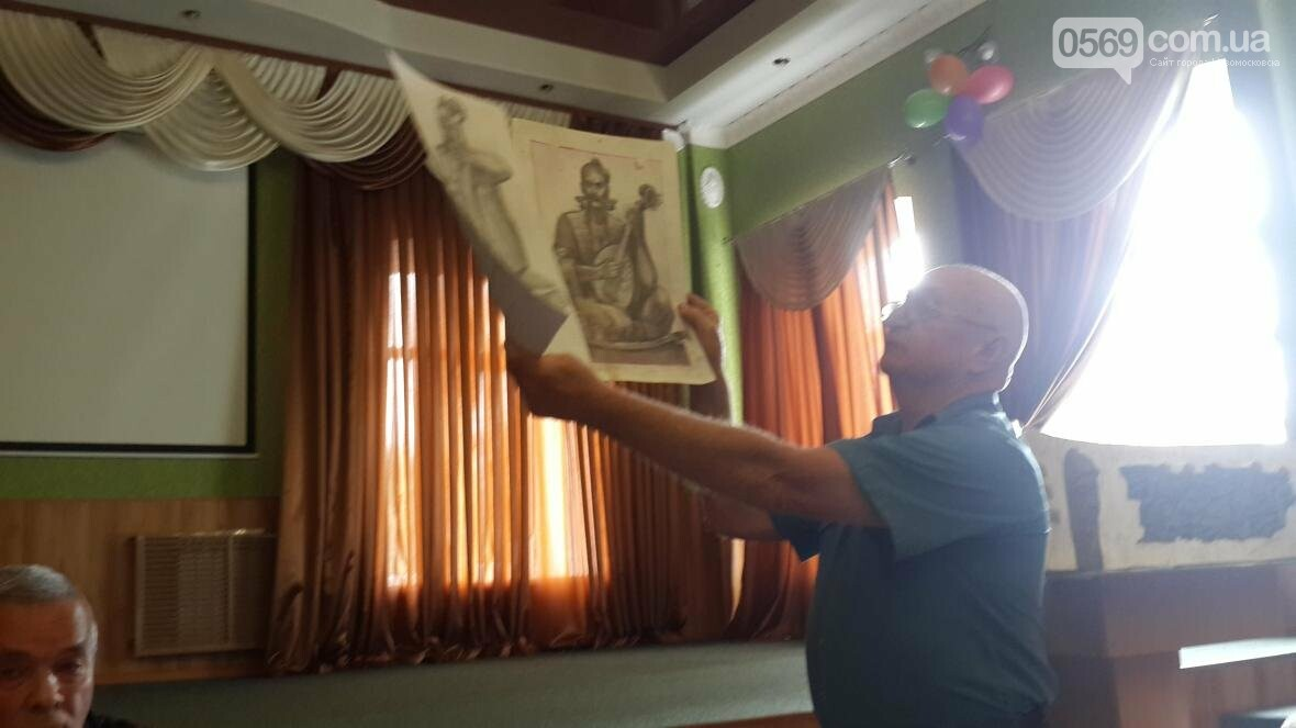 Автор гимна и герба Новомосковска отметил 80-летний юбилей, фото-3