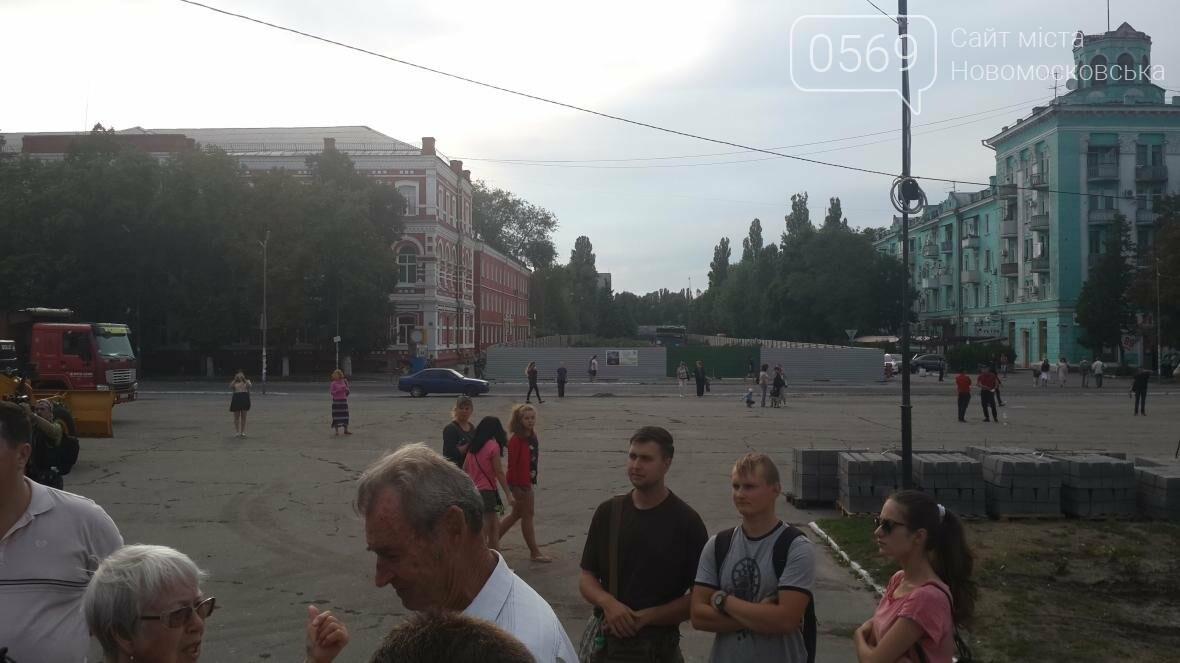 Скандал вокруг реконструкции площади Героев в Новомосковске, фото-6