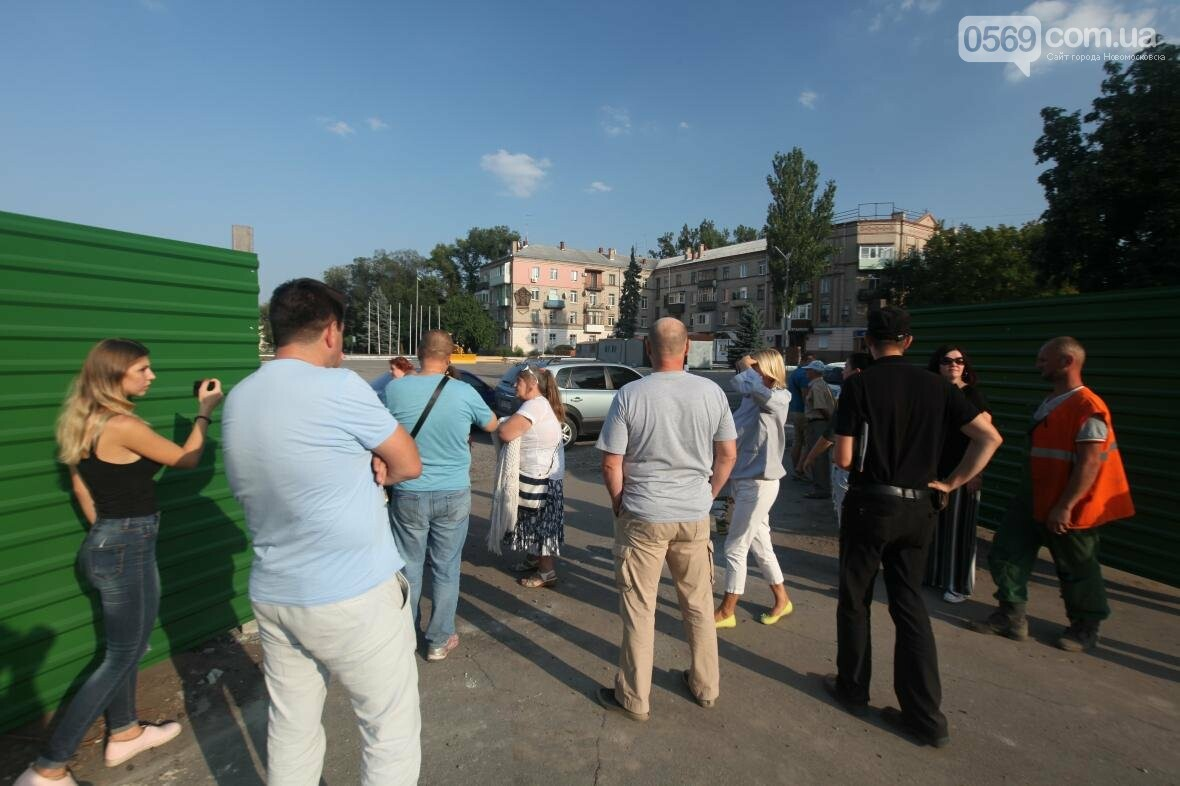 Скандал вокруг реконструкции площади Героев в Новомосковске, фото-3
