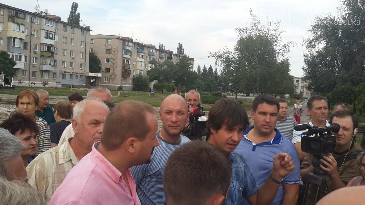 Скандал вокруг реконструкции площади Героев в Новомосковске, фото-9