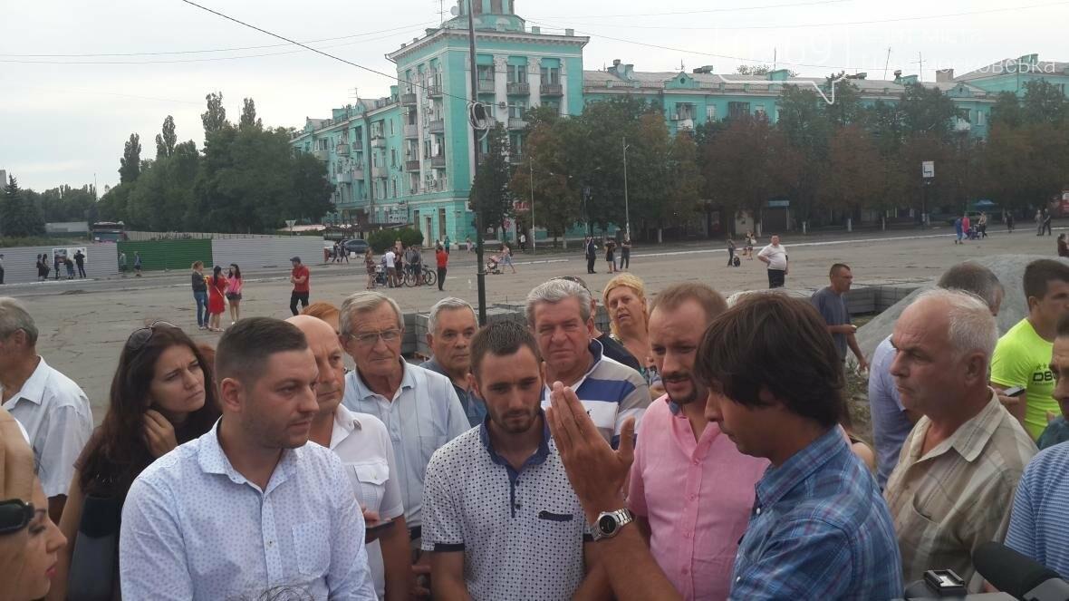 Скандал вокруг реконструкции площади Героев в Новомосковске, фото-7