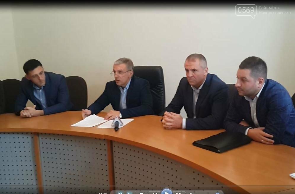 В Новомосковську презентували проект реконструкції площі Героїв, фото-1