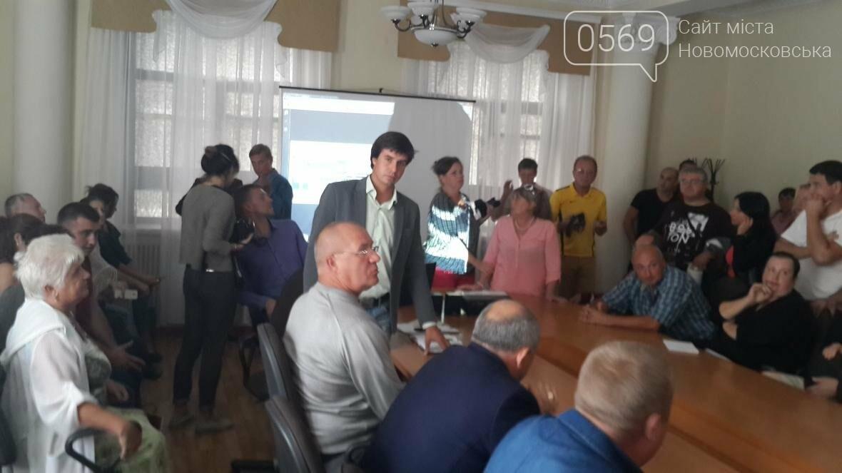 В Новомосковську презентували проект реконструкції площі Героїв, фото-15