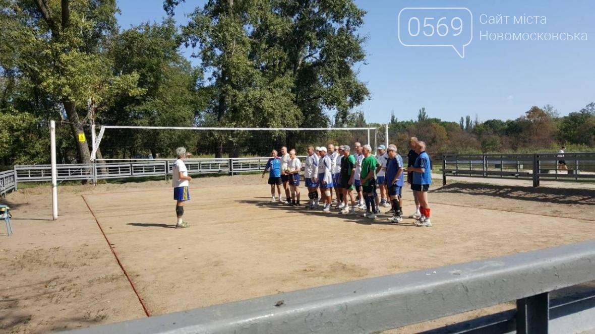 В Новомосковске прошел волейбольный турнир среди ветеранов, фото-3