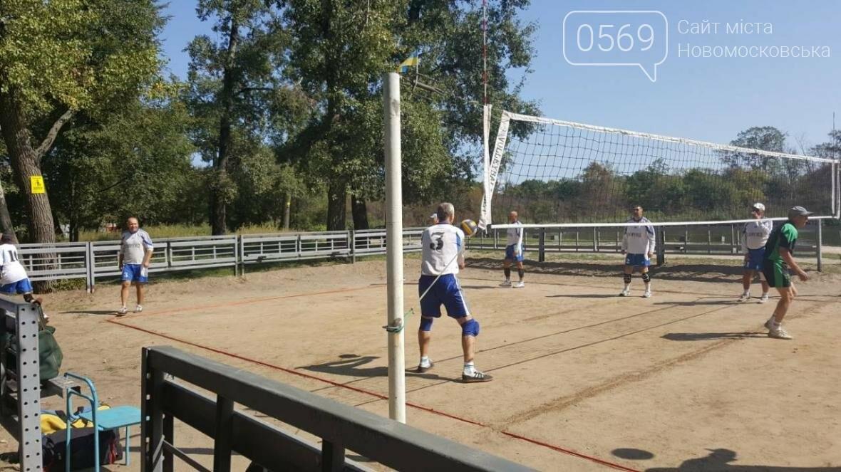 В Новомосковске прошел волейбольный турнир среди ветеранов, фото-4