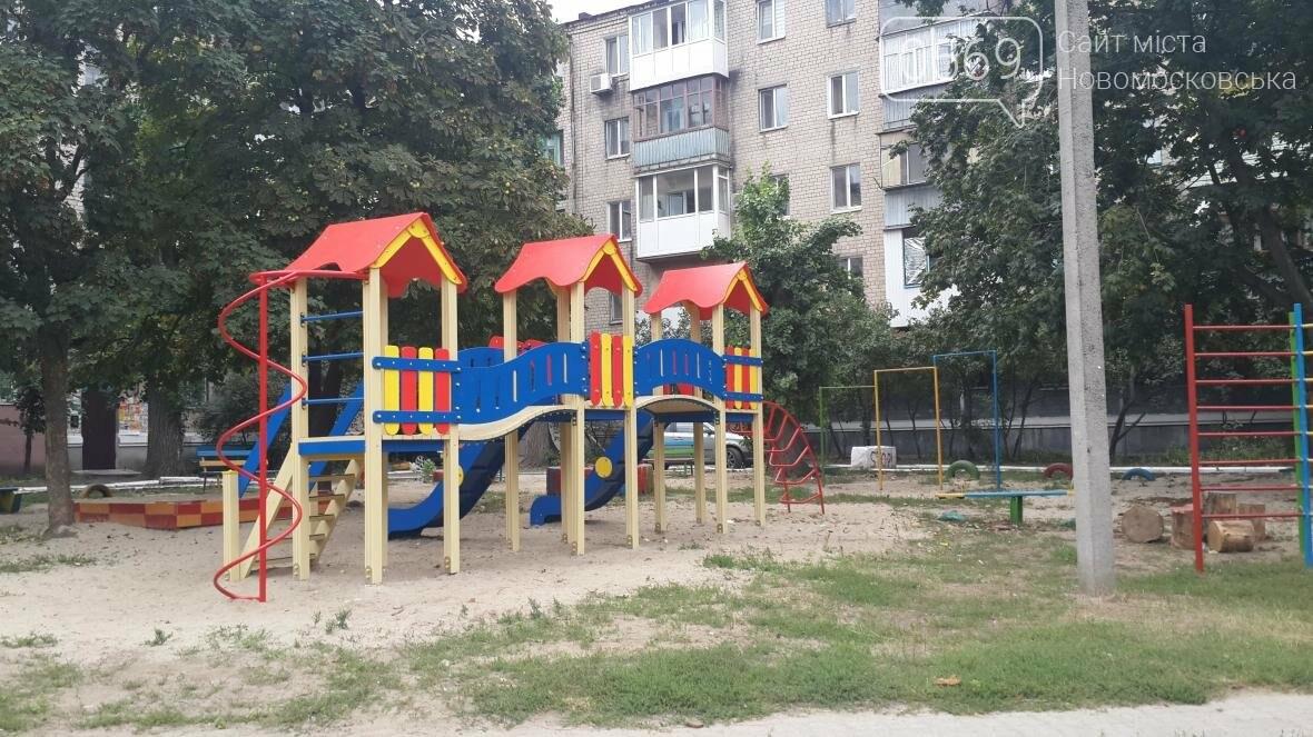 В Новомосковске за неделю открыли две детские площадки, фото-3