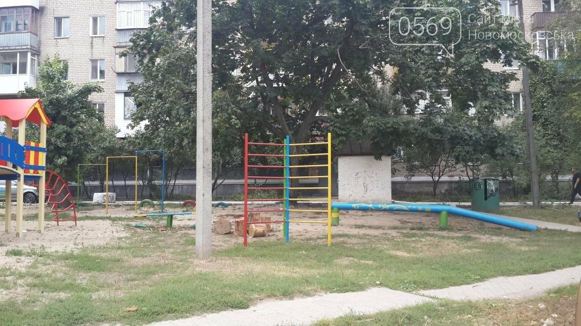 В Новомосковске за неделю открыли две детские площадки, фото-4