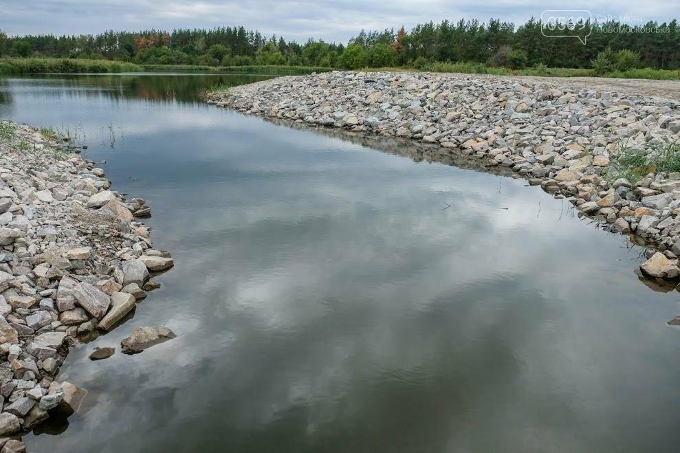 На Новомосковщине завершили расчистку реки Печанка , фото-2