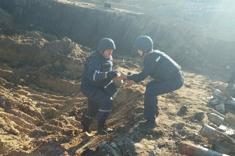 В Новомосковске обнаружено 68 снарядов, фото-2