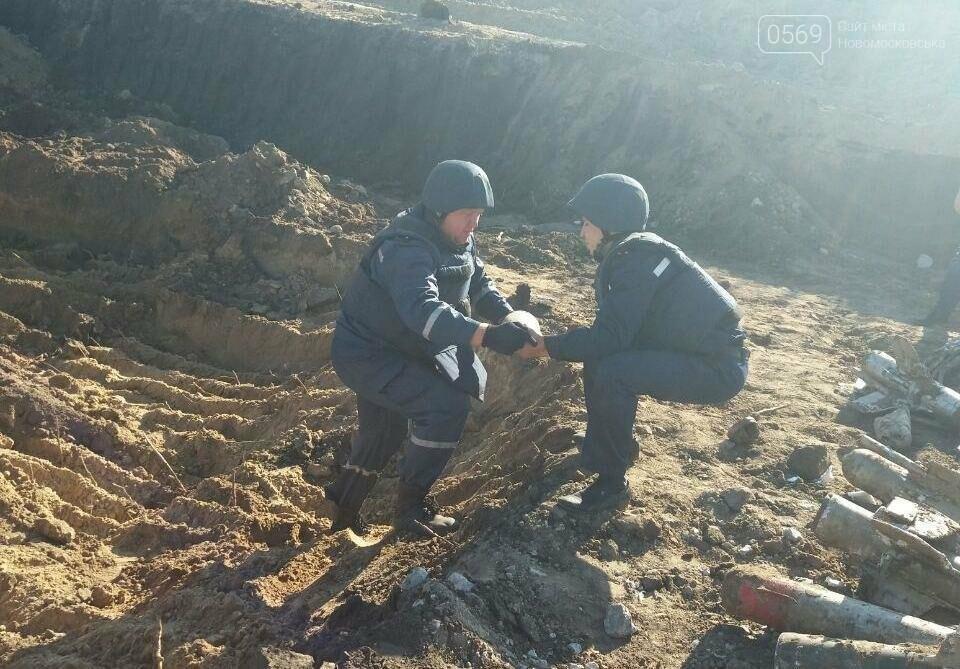 В Новомосковске обнаружено 68 снарядов, фото-3