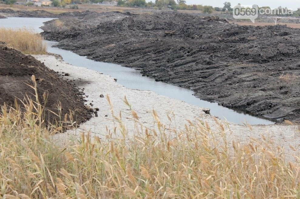 На Новомосковщине расчищают речку Самарчук , фото-6
