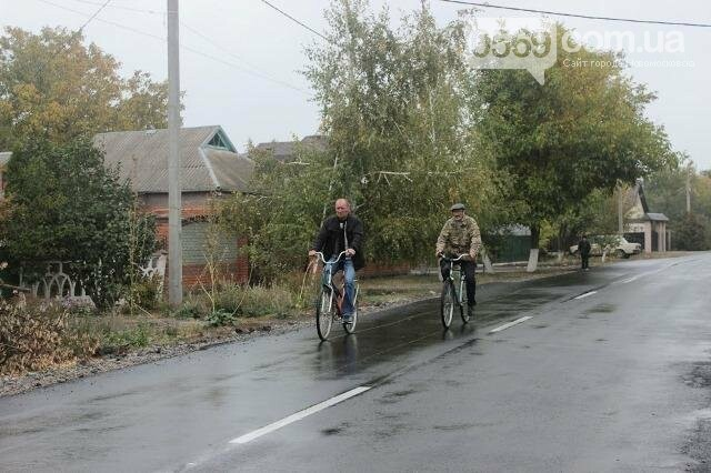 Цього року в Новомосковському районі відремонтували сім комунальних доріг, фото-5