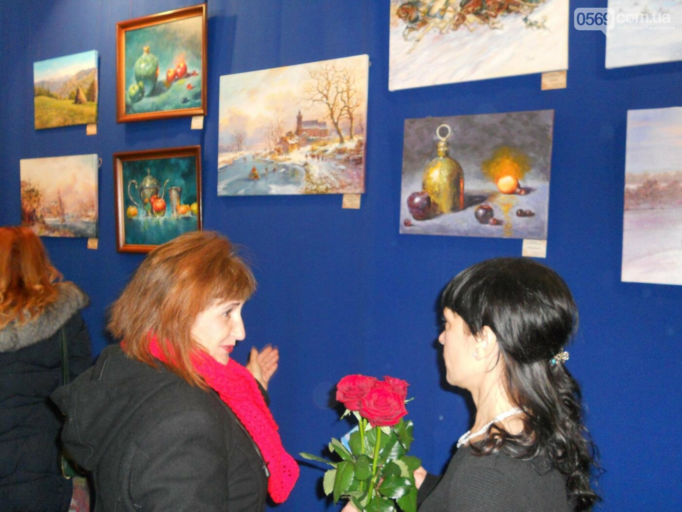 В Новомосковске открылась выставка молодых художников, фото-16