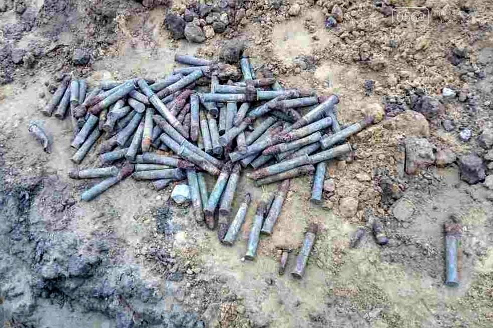 В Новомосковске обезвредили сотню снарядов, фото-1