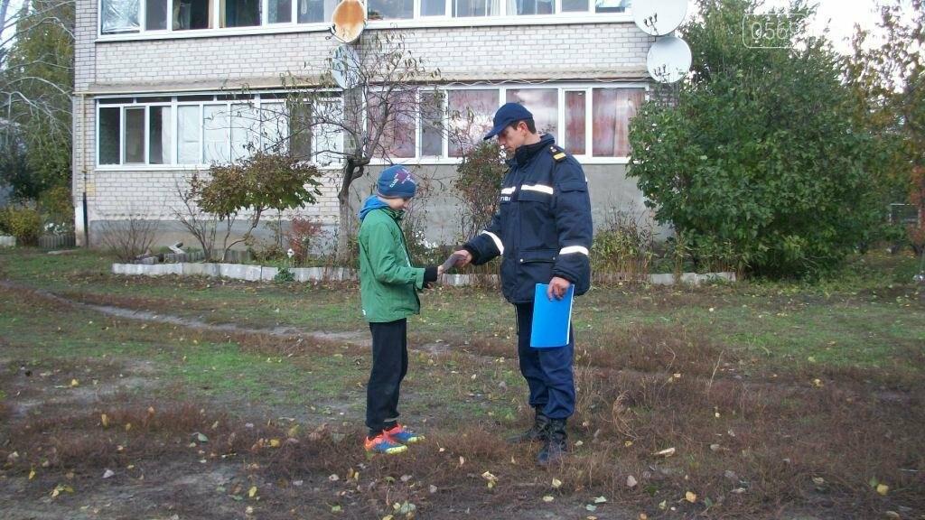 Рятувальники навчали мешканців міста пожежній безпеці, фото-5