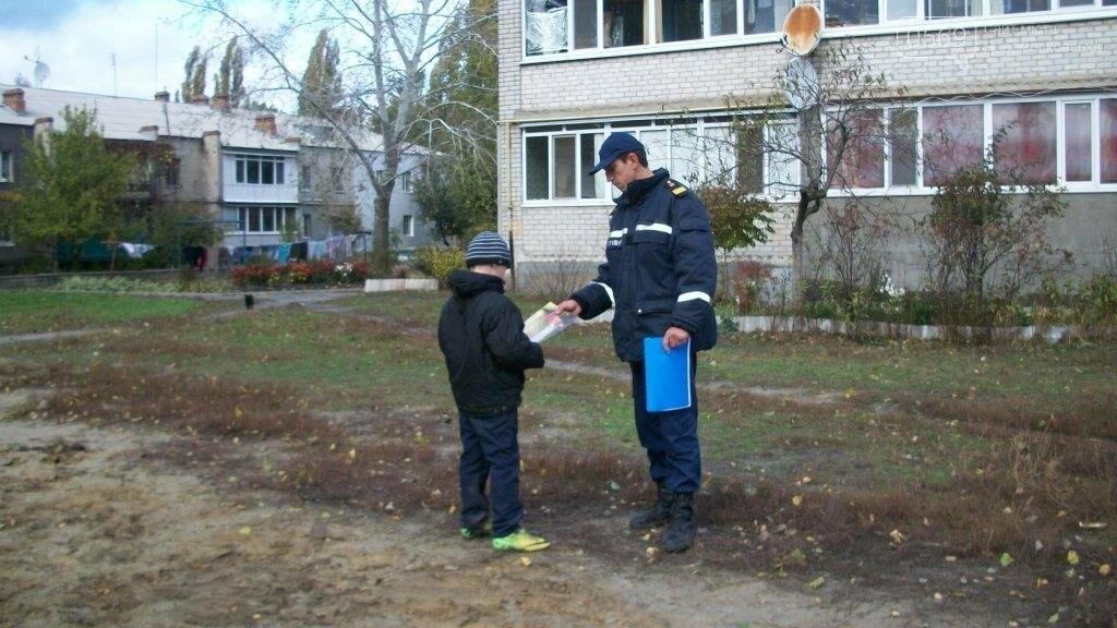 Рятувальники навчали мешканців міста пожежній безпеці, фото-4