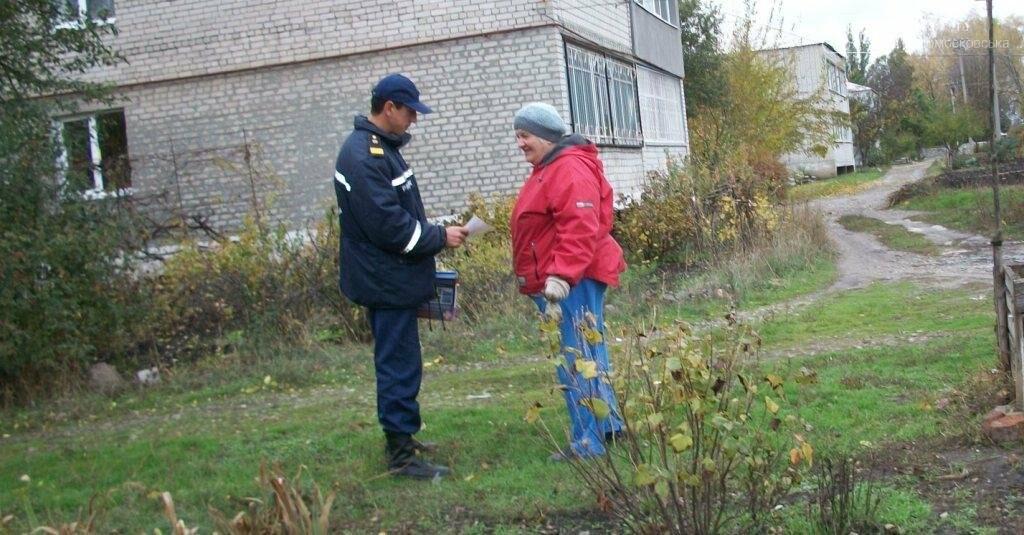 Рятувальники навчали мешканців міста пожежній безпеці, фото-1