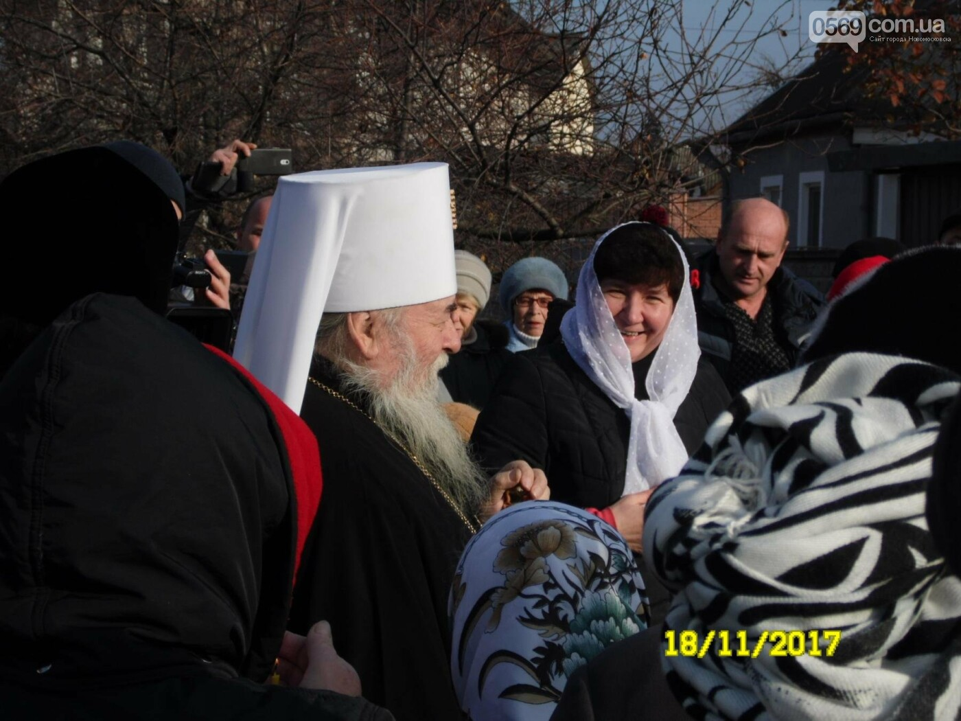 В Новомосковске заложили капсулу в основание нового храма, фото-16