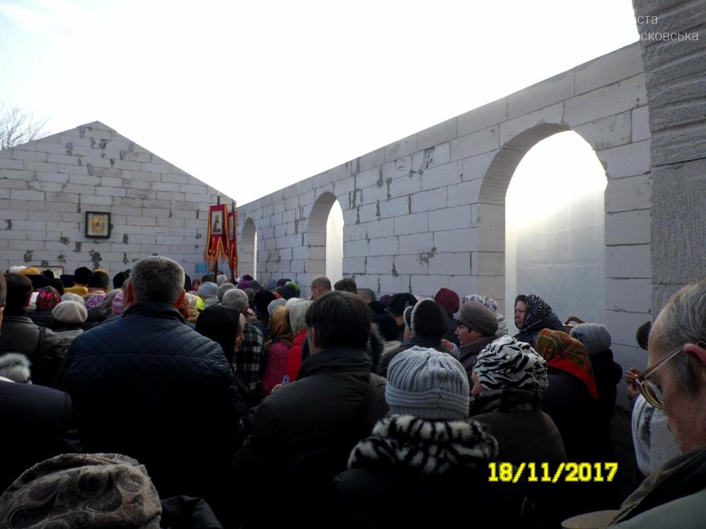 В Новомосковске заложили капсулу в основание нового храма, фото-9