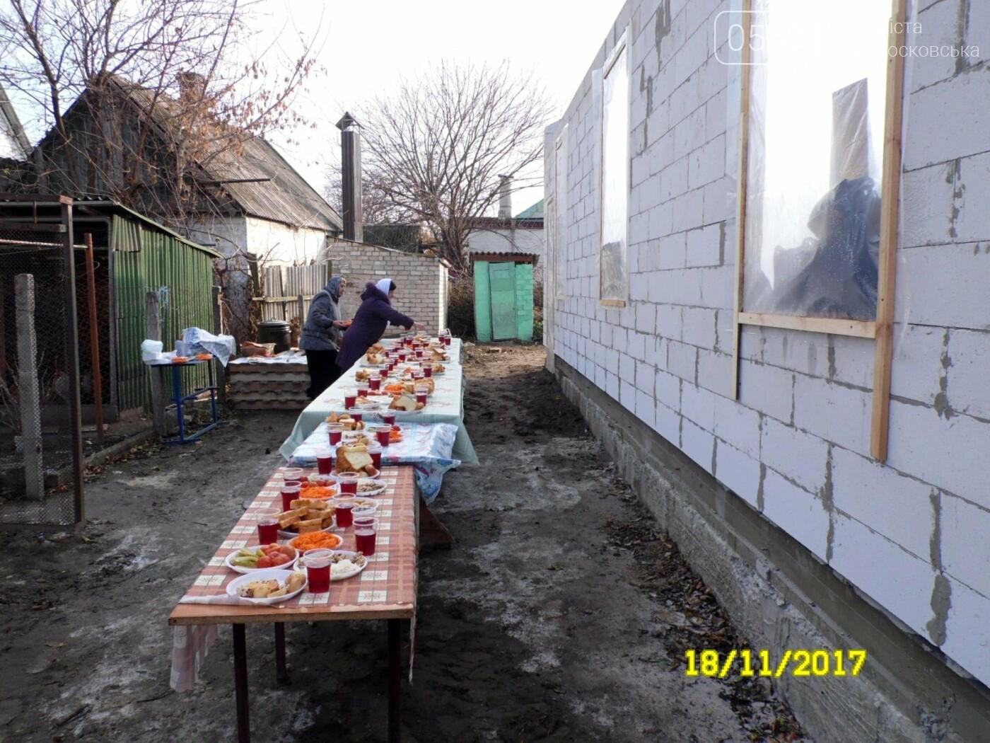 В Новомосковске заложили капсулу в основание нового храма, фото-14