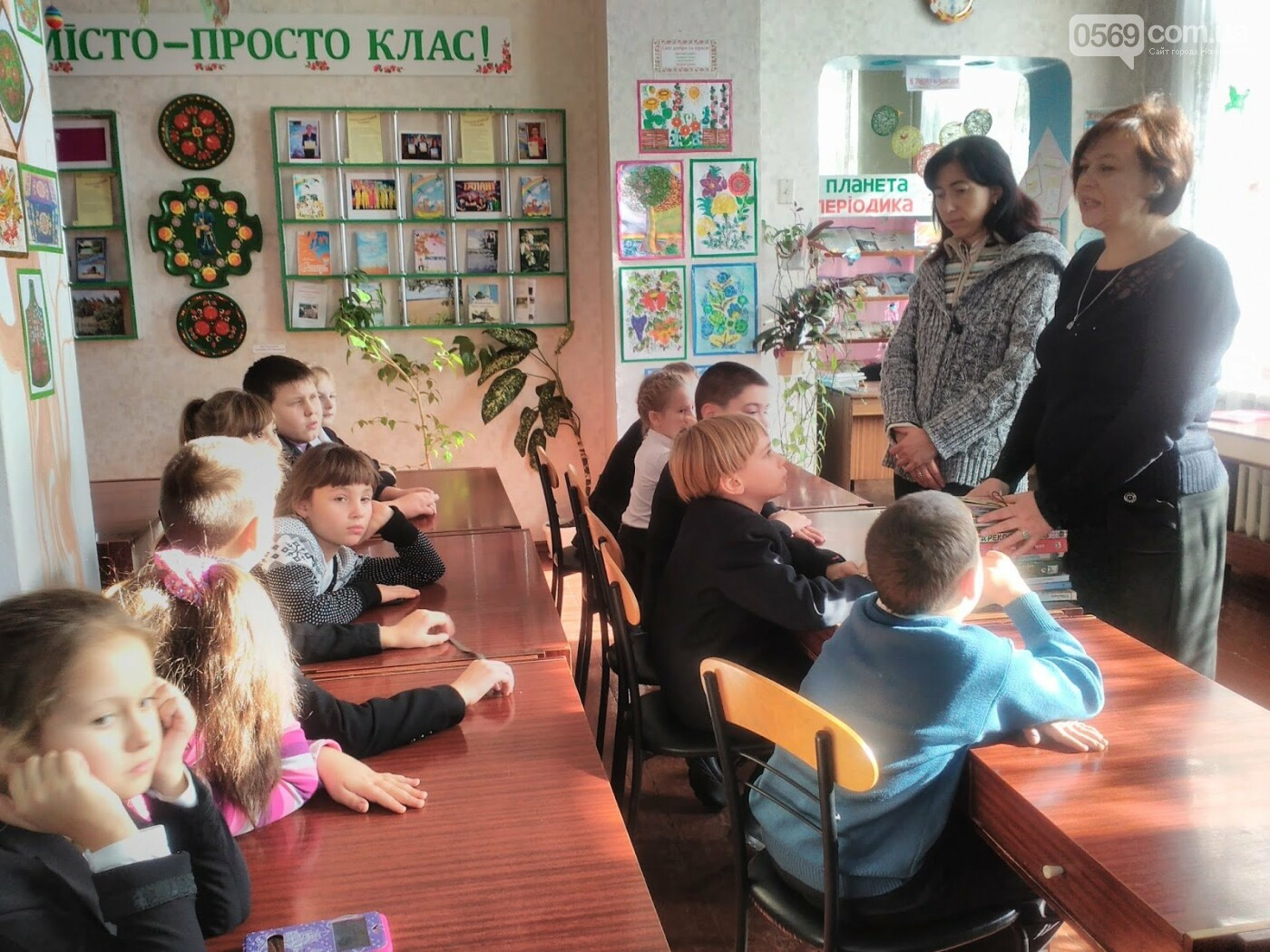 В Новомосковській дитячій бібліотеці відбувся День інформації, фото-2