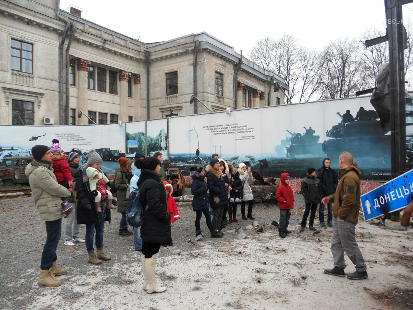 Новомосковці відвідали музей АТО у Дніпрі, фото-6