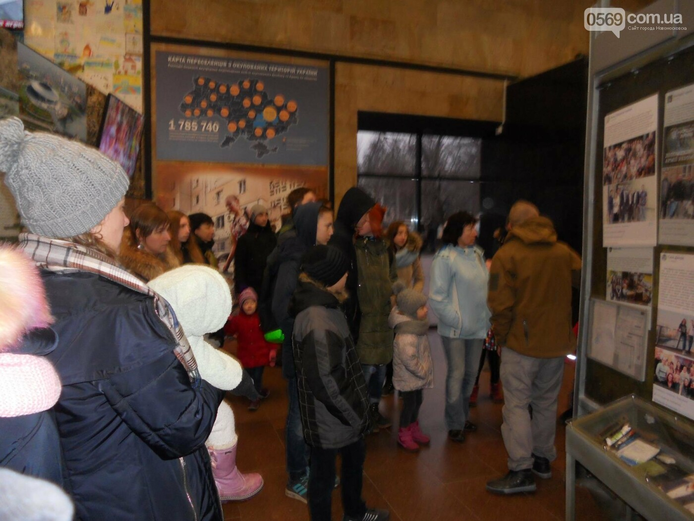 Новомосковці відвідали музей АТО у Дніпрі, фото-8
