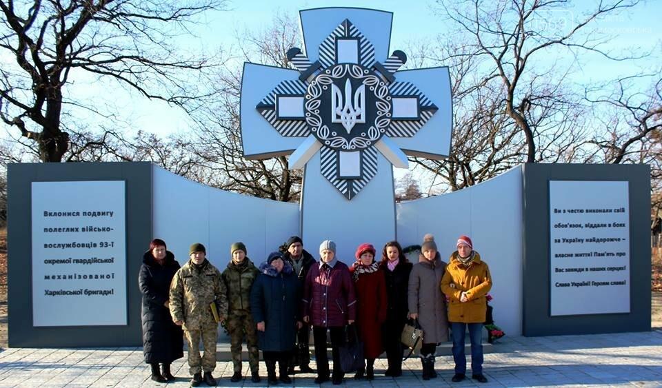 Меморіал на Новомосковщині відвідали родичі загиблих бійців з Павлограда, фото-2