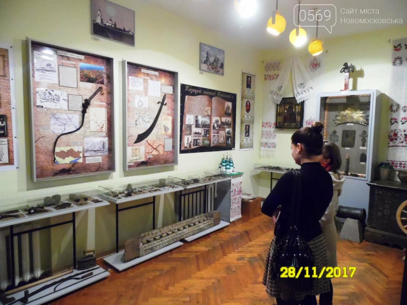 В Новомосковському музеї відкрили оновлену залу доби козацтва, фото-4