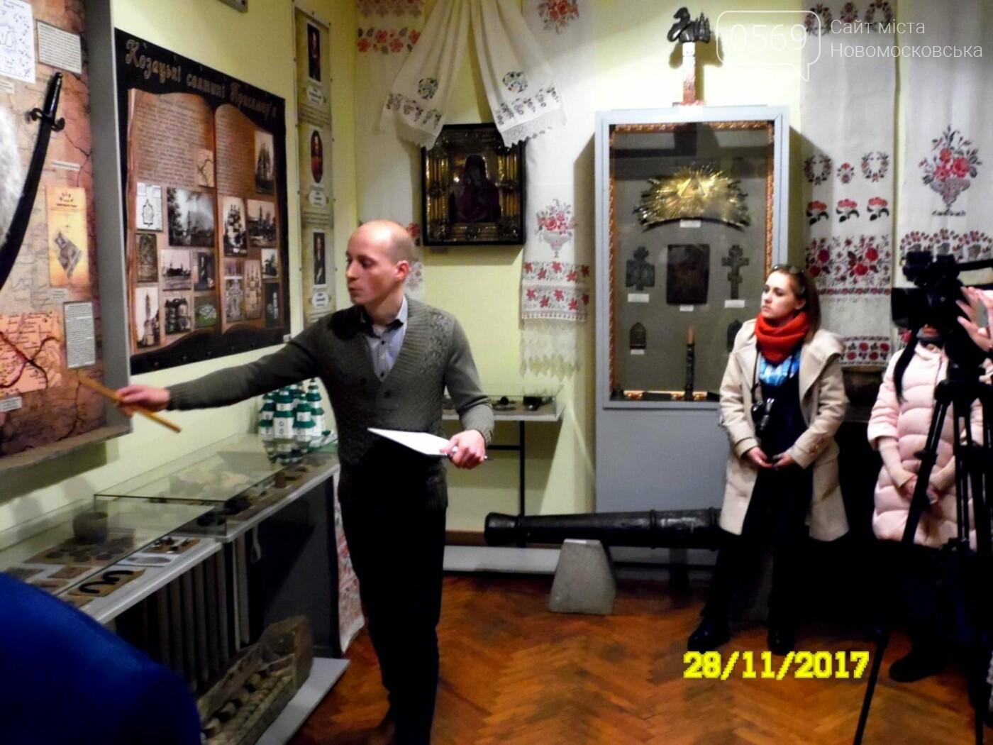 В Новомосковському музеї відкрили оновлену залу доби козацтва, фото-12
