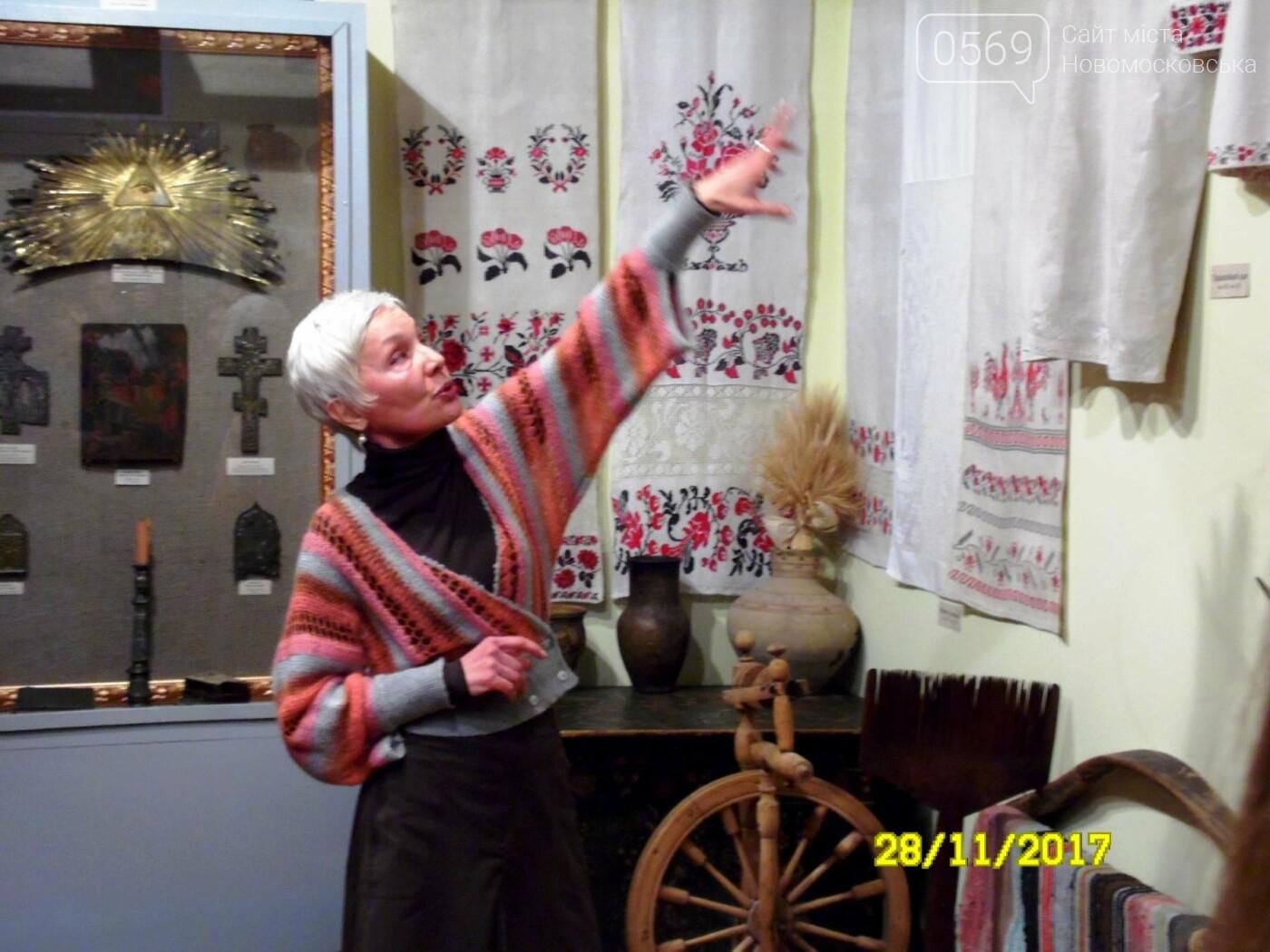В Новомосковському музеї відкрили оновлену залу доби козацтва, фото-9