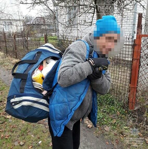 Новомосковські поліцейські затримали серійного дачного злодія, фото-1